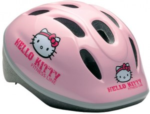 Fejvédő Hello Kitty pink